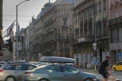 La ciudad de Budapest foto de archivo libre de regalías