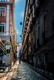 La ciudad de contrastes fotos de archivo