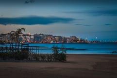 La ciudad de Crotone Fotografía de archivo