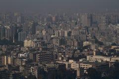 La ciudad de El Cairo Fotos de archivo libres de regalías