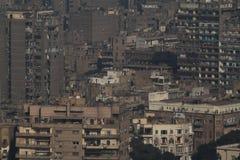 La ciudad de El Cairo Fotografía de archivo libre de regalías