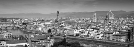 La ciudad de Florencia en Toscana, Italia Imagen de archivo