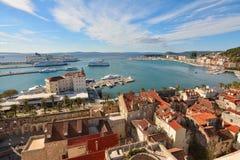 La ciudad de la fractura, Croacia Fotografía de archivo libre de regalías