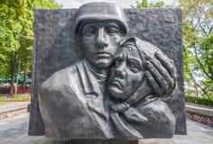 La ciudad de Gomel, Bielorrusia fotografía de archivo