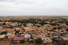 La ciudad de Jaisalmer Imagenes de archivo