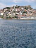 La ciudad de Kavala Imagen de archivo