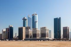 La ciudad de Kuwait, Oriente Medio Imagen de archivo libre de regalías
