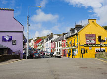 La ciudad de la cañada en Irlanda imagenes de archivo