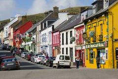 La ciudad de la cañada en Irlanda imagen de archivo libre de regalías