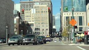 La ciudad de la ciudad de la esquina de calle de Cincinnati de Cincinnati metrajes