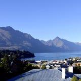 La ciudad de la reina en Nueva Zelandia Imagenes de archivo