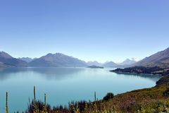 La ciudad de la reina en Nueva Zelandia Fotografía de archivo libre de regalías