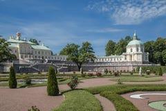 La ciudad de Lomonosov, palacio de Menshikov Imagenes de archivo