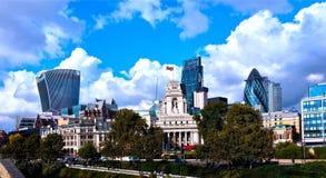 La ciudad de Londres Imágenes de archivo libres de regalías