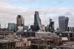 La ciudad de Londres, Reino Unido Imágenes de archivo libres de regalías