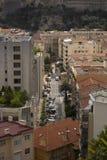 La ciudad de lujo misma de Mónaco en Francia Foto de archivo
