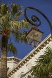 La ciudad de lujo misma de Mónaco en Francia Fotografía de archivo libre de regalías