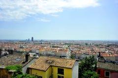 La ciudad de Lyon Fotografía de archivo