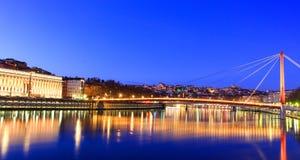 La ciudad de Lyon, Lyon, Francia Imagen de archivo libre de regalías
