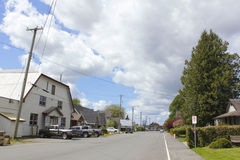 La ciudad de Matsqui, Columbia Británica fotografía de archivo