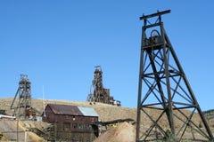 La ciudad de minas Imagen de archivo libre de regalías