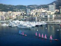 La ciudad de Monte Carlo, Mónaco Imagenes de archivo