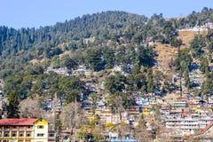 La ciudad de Nainital Fotos de archivo libres de regalías