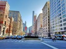 La Ciudad de New York Immagini Stock