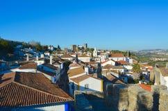 La ciudad de Obidos Imagen de archivo