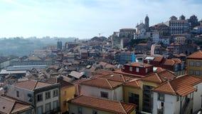 La ciudad de Oporto, Portugal Fotos de archivo
