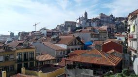 La ciudad de Oporto, Portugal Foto de archivo libre de regalías