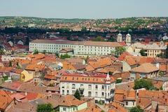 La ciudad de Oradea cubre el modelo Foto de archivo