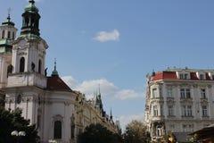 La ciudad de Praga Fotos de archivo libres de regalías