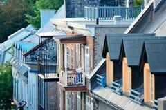 La ciudad de Quebec Foto de archivo