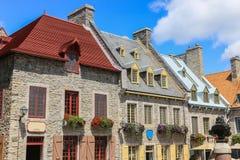 La ciudad de Quebec, Canadá Fotos de archivo libres de regalías