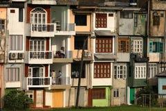 La ciudad de Ratnapura en Sri Lanka Foto de archivo