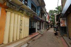 La ciudad de Ratnapura en Sri Lanka Foto de archivo libre de regalías