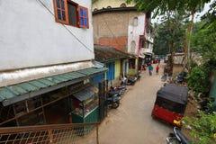 La ciudad de Ratnapura en Sri Lanka Fotos de archivo libres de regalías