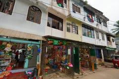 La ciudad de Ratnapura en Sri Lanka Fotos de archivo