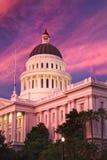 La ciudad de Sacramento California Imagenes de archivo