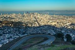 La ciudad de San Francisco Imagen de archivo
