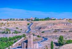 La ciudad de Segovia imagen de archivo libre de regalías