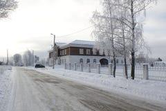 La ciudad de Staritsa, Tver, Rusia Fotografía de archivo libre de regalías