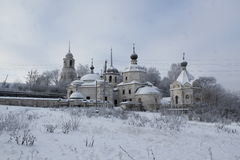 La ciudad de Staritsa, Tver, Rusia Imágenes de archivo libres de regalías