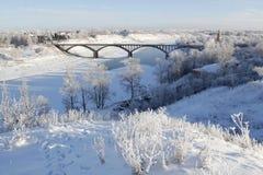 La ciudad de Staritsa, Tver, Rusia Imagenes de archivo