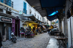 La ciudad de Túnez Imagen de archivo