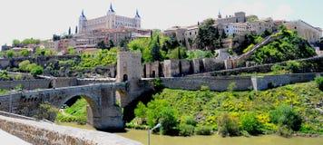 La ciudad de Toledo Foto de archivo