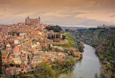 La ciudad de Toledo Imagen de archivo libre de regalías