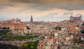 La ciudad de Toledo Imagenes de archivo