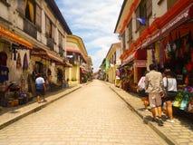 La ciudad de Vigan fotos de archivo libres de regalías